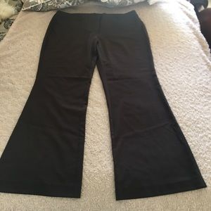 ***3X$15.00**New York & Company Brown Dress Pants